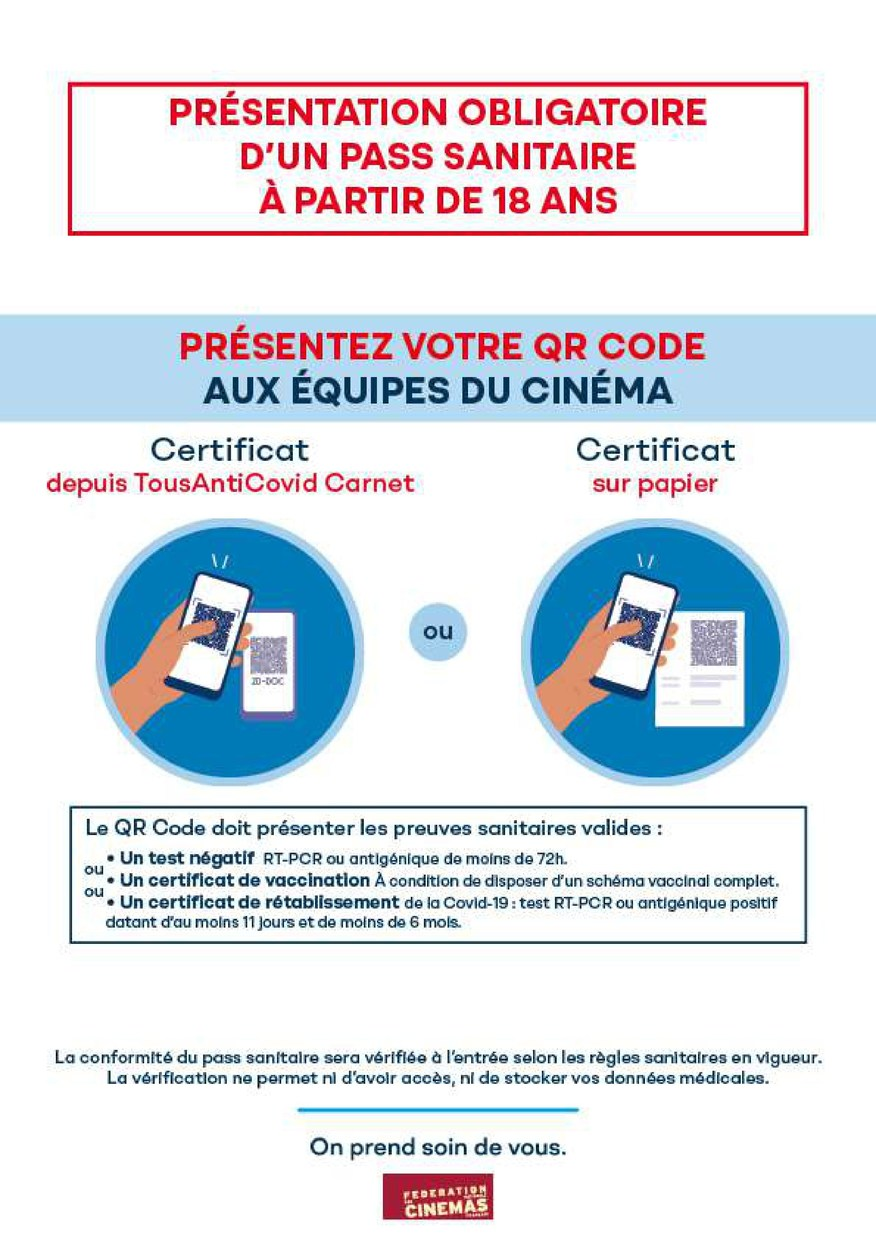 Information Pass Sanitaire !